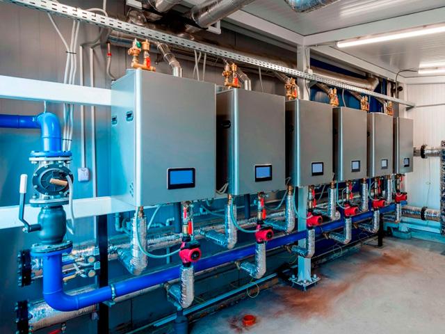 Climatización para empresas e industrias.
